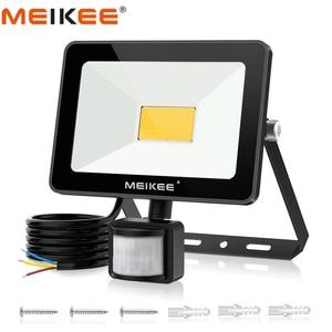 Image 1 - 25W Motion Sensor LED Flood Light AC110/220V Waterproof LED Floodlight Outdoor Spotlight Security Lamp for Garden Corridor