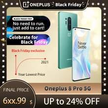 SmartPhone Global Oneplus 8 Pro 5G 6.78 pouces Snapdragon 865 Octa Core Android 10 30W chargeur 2K 120Hz NFC