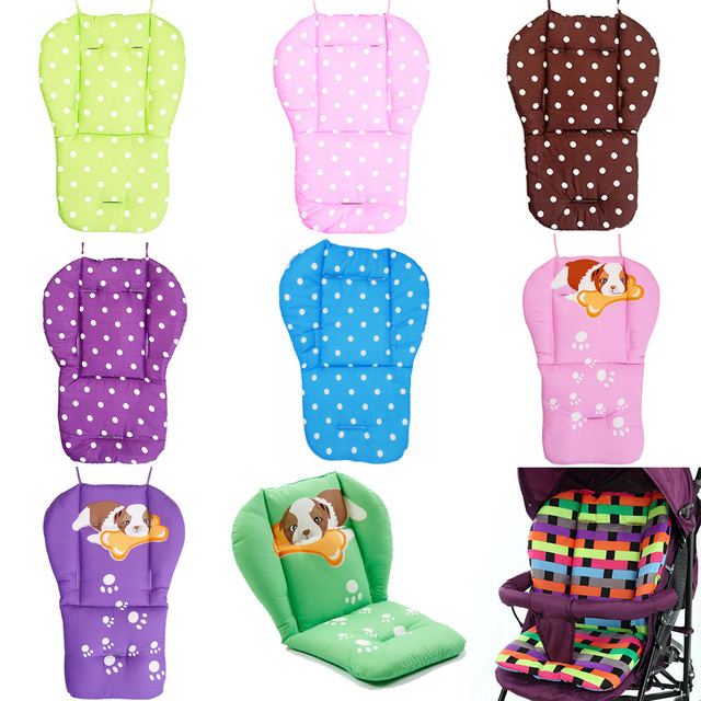 Siège de poussette pour bébé   Coussin souple, poussette pour enfants, chariot de voiture, siège de chaise haute, accessoires coussin pour bébé