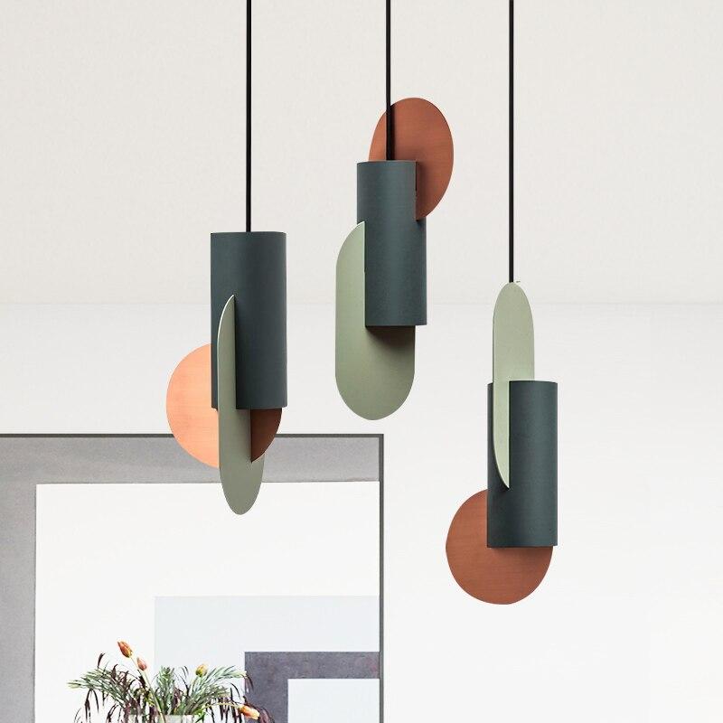 LED moderne éclairage plafonnier suspension pour chambre salon Loft salle à manger nordique maison décorative lampe suspendue