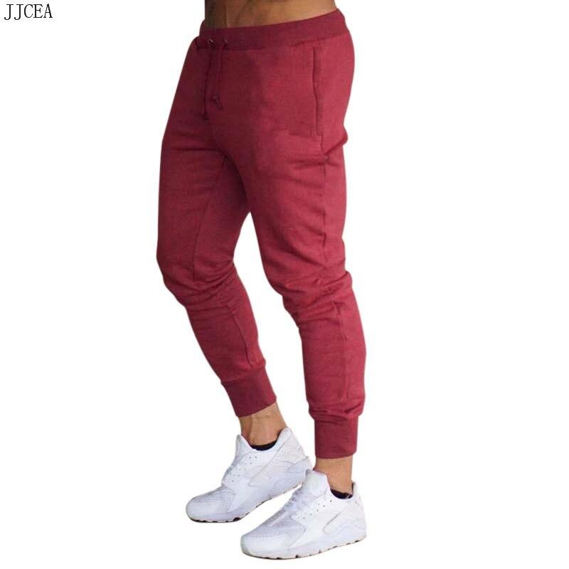 Mens Joggers New Casual Pants Fitness Men Sportswear Tracksuit Bottoms Skinny Sweatpants Trousers Black Gyms Jogger Track Pants