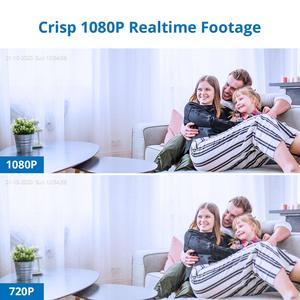 Image 2 - SANNCE 8CH 1080N DVR 1080N CCTV 시스템 1080P 2.0MP 보안 카메라 IR 야외 IP66 비디오 감시 키트 모션 감지