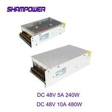 48V 5A 240W Switching Power Supply AC110V/220V to DC 48V 5A 10A 240W 480W LED Strip source power Adapter 48V Transformer sonia de nisco кардиган