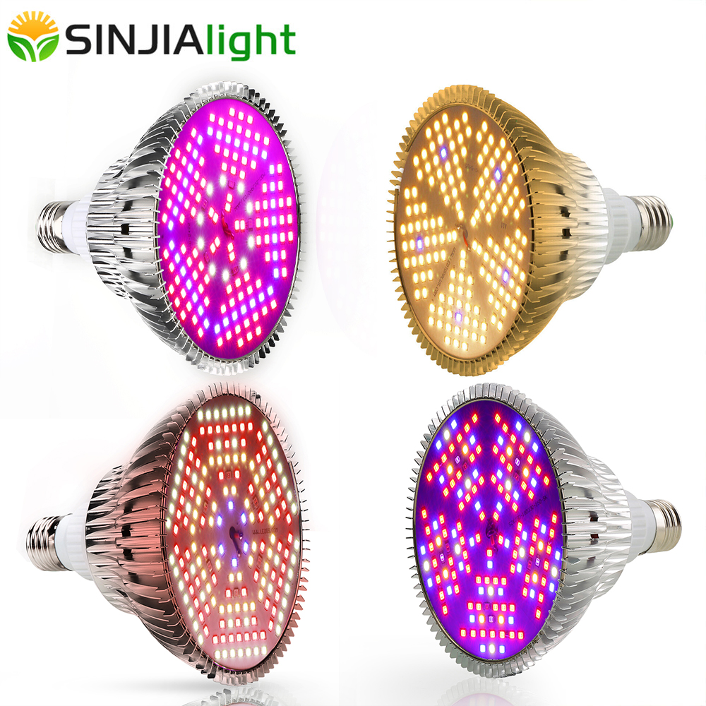 E27 LED Grow Light Full Spectrum 100W/120W Plant Growth Lamp Fitolamp Led Growing Bulb For Flowers Garden Vegs Grow Box