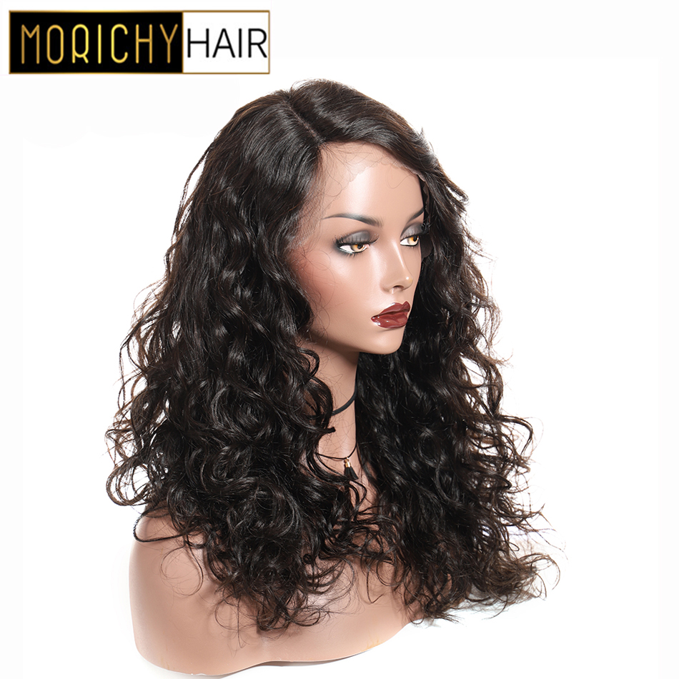 Wig Side-Lace-Part Hair Curly T-Parthuman High-Quality Brazilian 150%Density Morichy