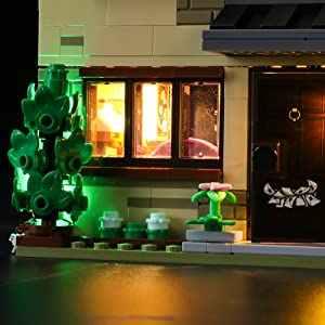 Đèn LED Chiếu Sáng Bộ 4 Privet Drive 75968 (LED Chỉ Bao Gồm, Không Bộ) dành Cho Trẻ Em Đồ Chơi Giáo Dục Quà Tặng Sinh Nhật