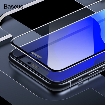 Baseus 0.3mm Screen Protector For iPhone 11 Pro Xs Max X Xr Full Cover Tempered Glass Protective Film For iPhone 11 Protection 1