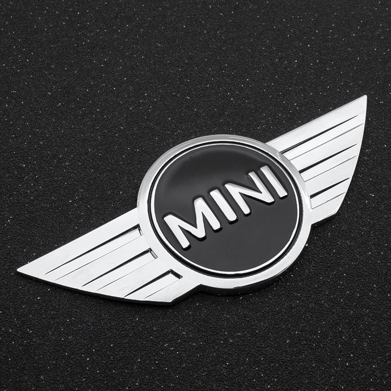 Car Styling 3D Metal Badge Rear Emblem Tail Sticker For BMW Mini COOPER One S R50 R53 R56 R60 F55 F56 R57 R58 R59 R60 Accessorie