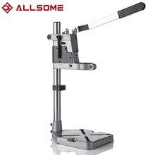 ALLSOME-support de perceuse électrique, support de perçage de 400 mm, support de broyeur, presse de paillasse de support, broyeur de pince de support pour le travail du bois