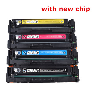 Image 1 - Cartouche Toner de couleur Compatible hp, pour HP LaserJet Pro M252dn M252n M252n MFP M277dw M277n M274n, CF400A CF401A 402 403A 201A