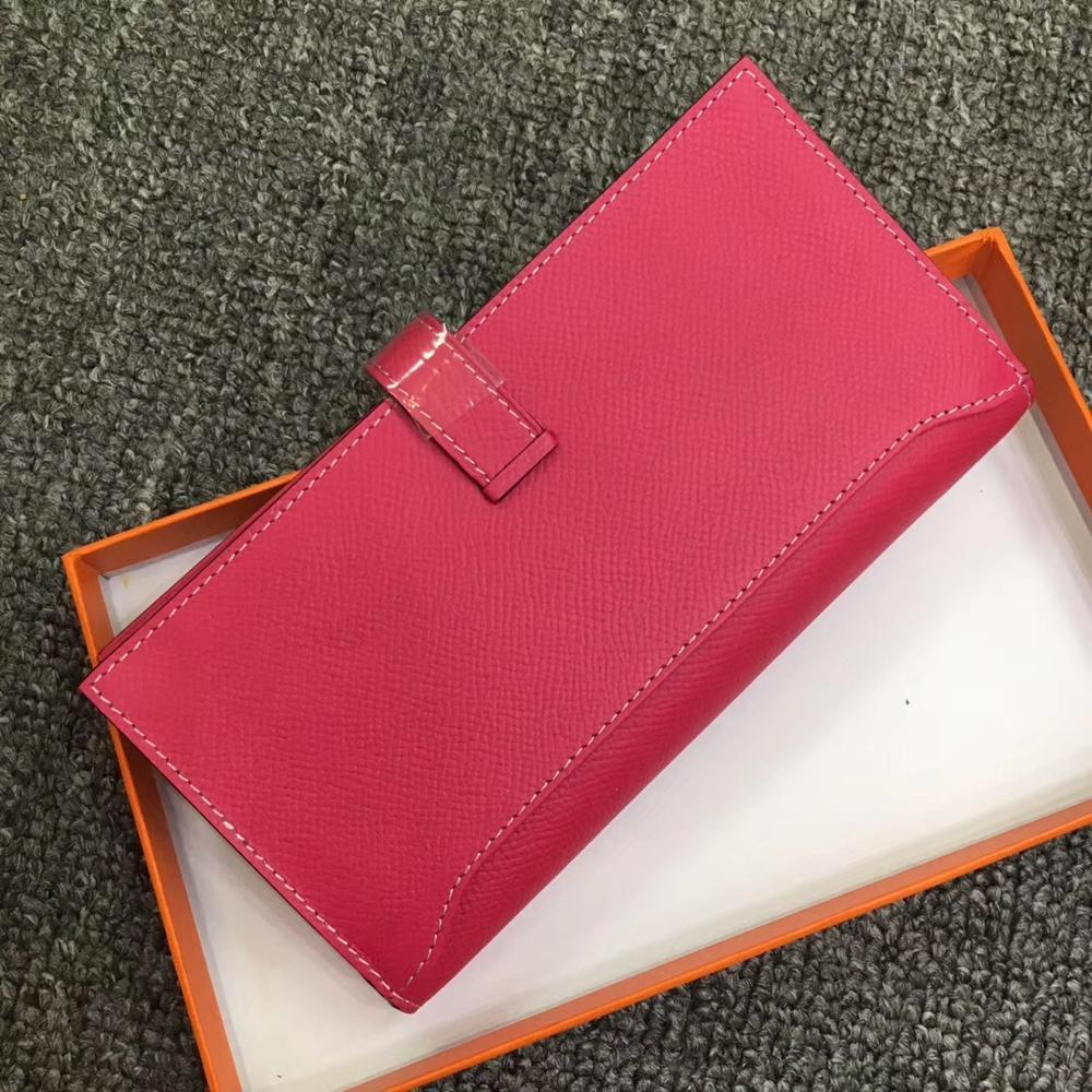 Cafunila 2019 célèbre marque argent sac en cuir véritable affaires portefeuille femmes fermeture éclair pochette longue sacs à main porte-carte Iphone poche