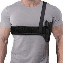 Pistolet kabura pod pachami ukryty futerał na ramię prawa ręka pistolet kabura Tactical Handgun etui ochronne dla Glock 17 19 akcesoria