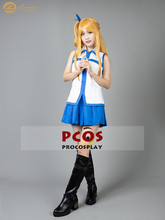 Procosplay en STOCK Fairy Tail Lucy Heartfilia trajes cosplay disfraz sin peluca y zapatos mp002920(China)