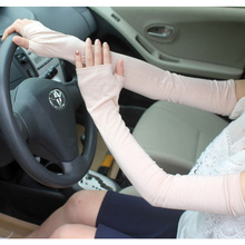 Summer long modal sunscreen sleeves ladies thin cool breathable and sweat-absorbent sports driving and riding