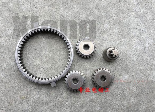 Lithium Battery Charging Electric Wrench Accessories Big Gear Fixing Ring Inner Teeth Planetary Small Teeth 50 Teeth
