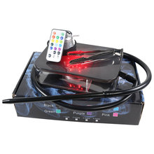 Hookah Led-Light Water-Pipe Complete Smoking with Portable for
