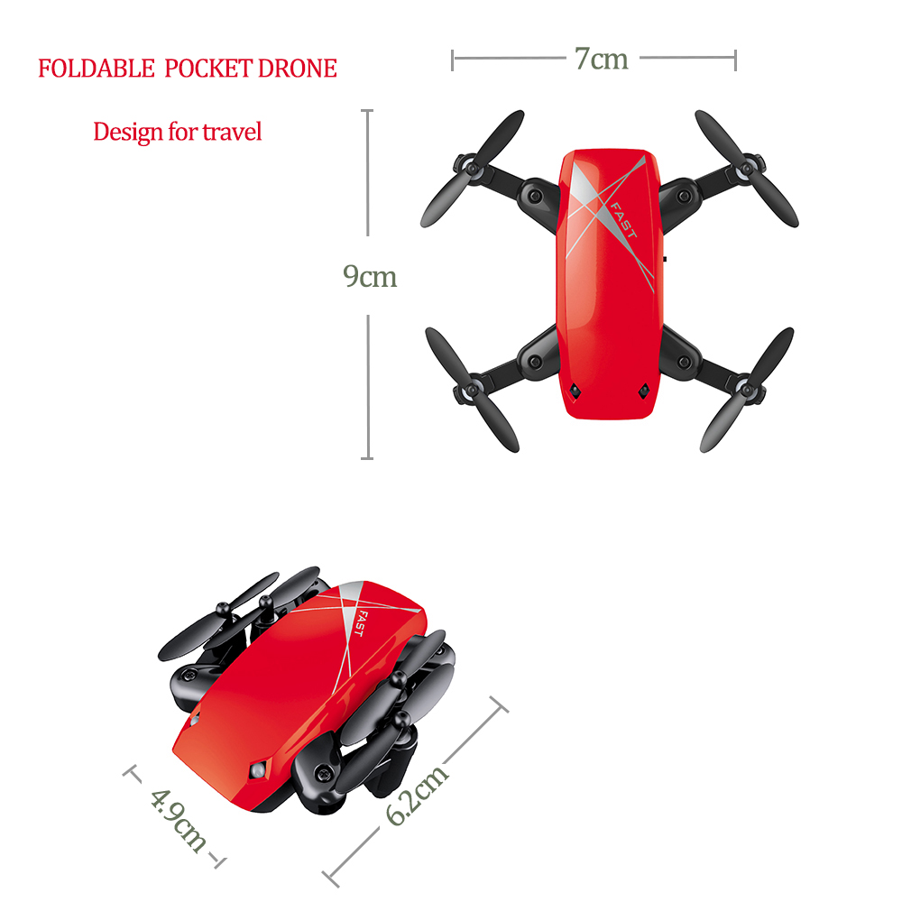 FPV mini drone with HD Camera nano drones RC Foldable quadcopter quadrocopter Selfie Dron Phone Control Toys Best Gift