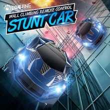 Eachine EC03 2.4G powietrza RC samochód Stunt wspinaczka podwójny tryb 360 ° obracanie Stunt High Speed pojazdu z LED światła dla dzieci zabawki