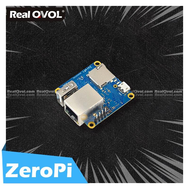 RealQvol FriendlyELEC NanoPi ZeroPi 512 МБ ОЗУ Гбит/с Ethernet Cortex A7 макетная плата Allwinner mini linux плата pi zero