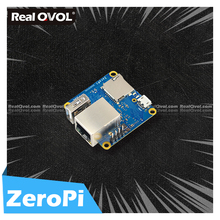 RealQvol FriendlyELEC NanoPi ZeroPi 512MB RAM Gbps Ethernet Cortex A7 Development Board  Allwinner  mini linux board  pi zero