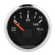 Электромагнитный манометр для масла Универсальный Корпус из нержавеющей стали автомобильный индикатор давления масла Датчик давления топлива авто
