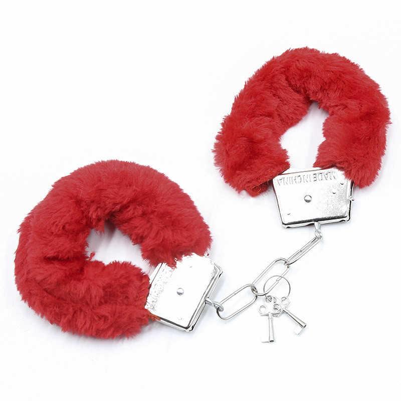 Эротические игрушки Кляпы намордники наручники плетка БДСМ Связывание набор флирт взрослые игры Фетиш Секс игрушки для женщин пары рабыня