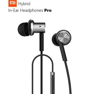 Image 4 - Оригинальные наушники Xiaomi Hybrid Pro HD, наушники Hybrid Pro с тройным и двойным динамическим драйвером, сбалансированная конструкция Mi, вкладыши с управлением на проводе и микрофоном
