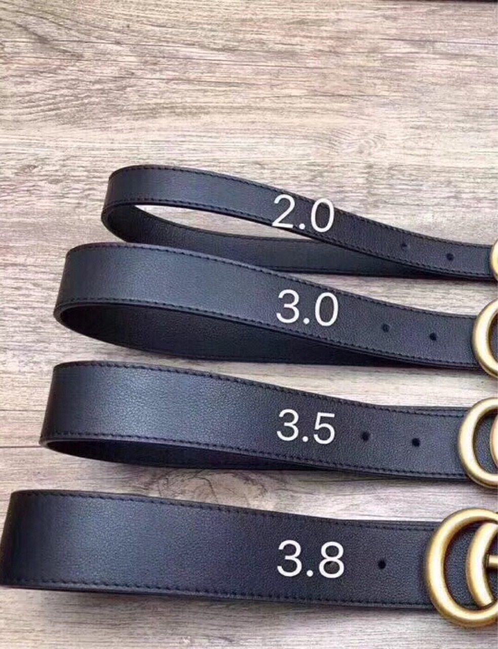 Genuine Leather High Quality Black Buckle Jeans   Belt   Cowskin Casual GG   Belts   waistband