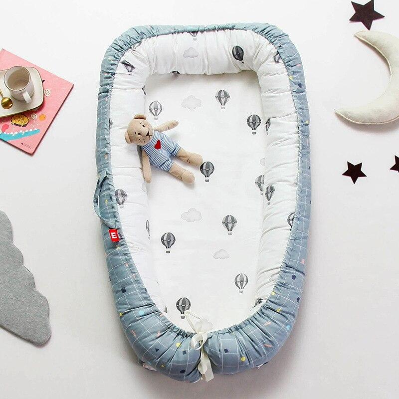 Bébé Portable Bionic lit enfant en bas âge coton berceau bébé couffin pare-chocs pliable dormeur Babynest pour nouveau-né coton berceau