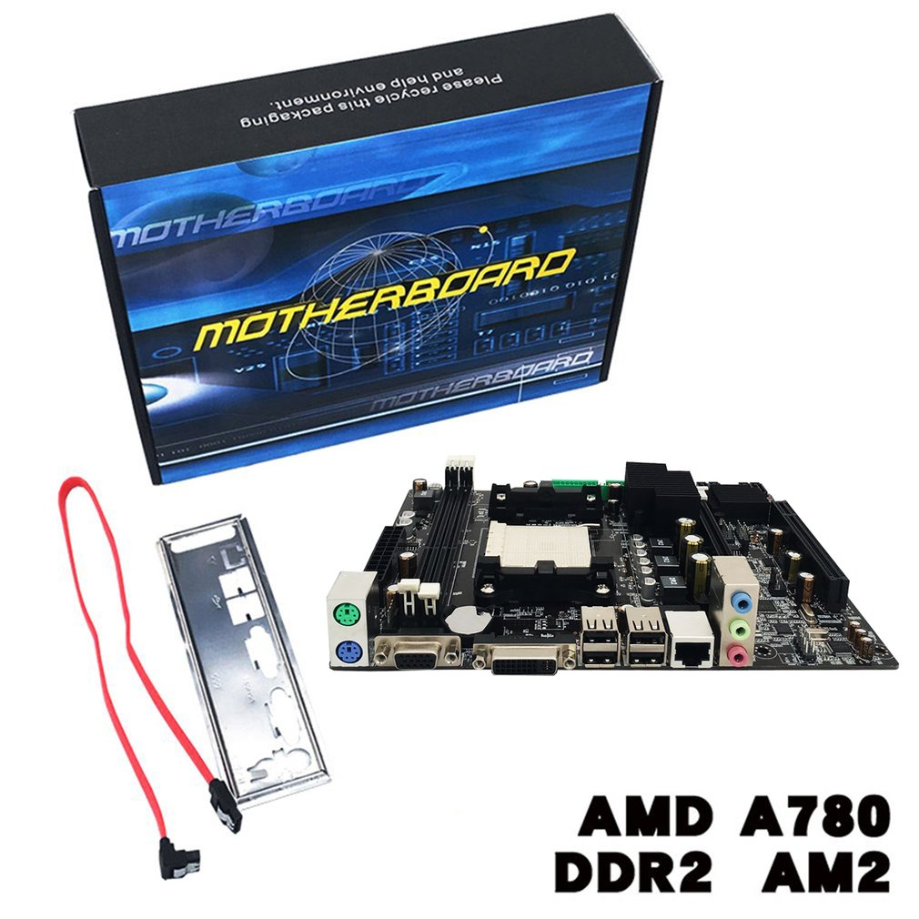 A780 Desktop Computer Motherboard 780G Mainboard Support DDR3 Memory Dual Channel AM3 Socket
