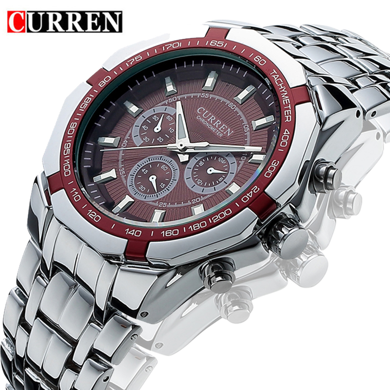 Curren Uhren 2019 Männer Top Marke Relogio Masculino Luxus Military Quarzuhr Mens Casual Analog Mann Armbanduhr Dropshipping