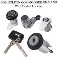 """אוטומטי הצתה מתג דלת מנעול חבית עם 2 מפתחות החלפה עבור הולדן Commodore סדאן Wagon Ute VN סמנכ""""ל VR w/נעילה מרכזית"""