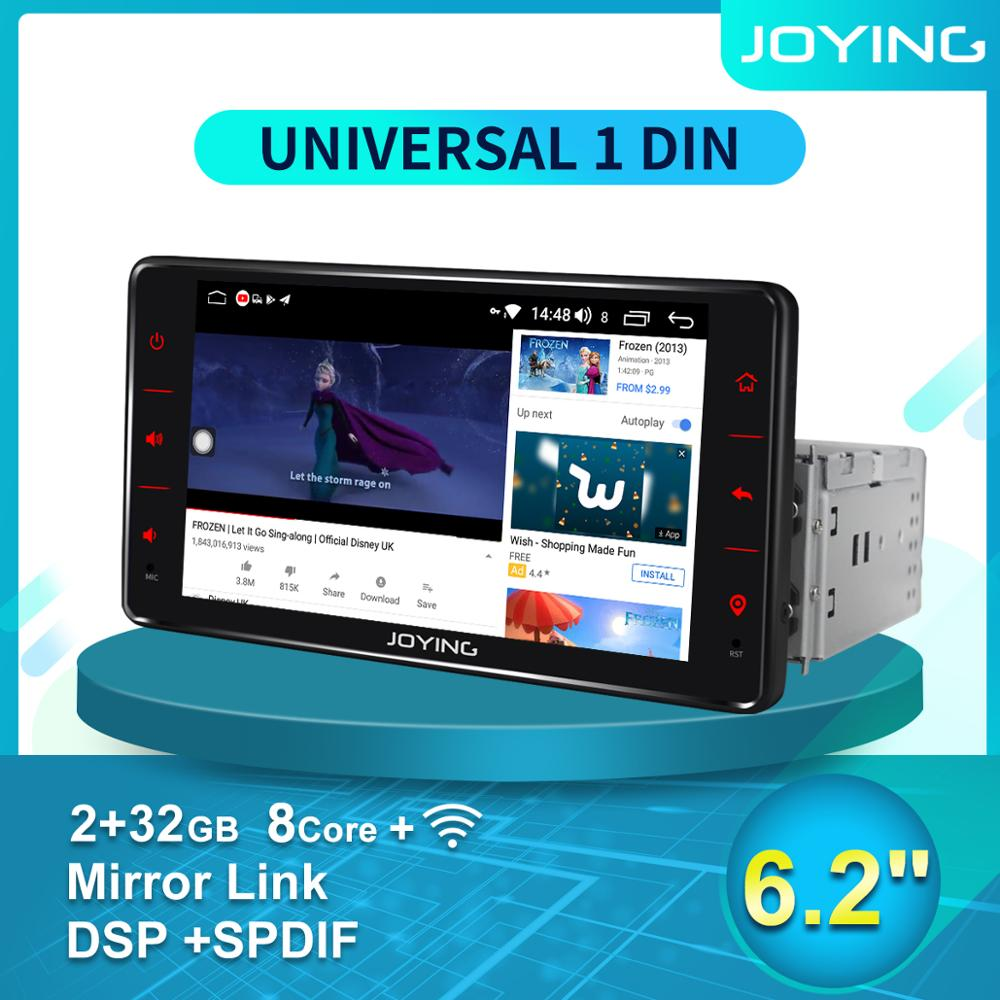 Universal 1 din android car Radio Auto autoradio multimedia player car products head unit single din car stereo Mirror Link DVR image