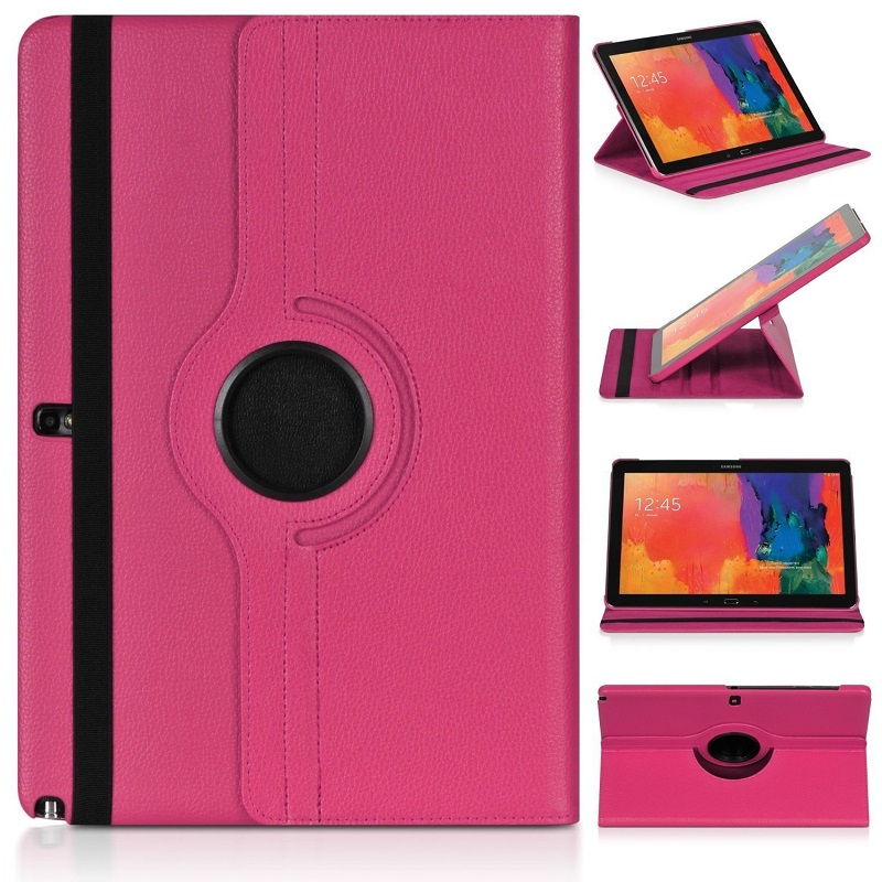 Ultra Slim PU Leather Case For <font><b>Samsung</b></font> Galaxy Note 10.1 <font><b>GT</b></font> N8000 Stand Cover Note 10.1 2012 N8010 N8013 N8020 Tablet Cases Capa image