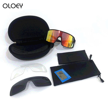 Newest Oloey Polarized Sports Men Sunglasses Road Cycling Glasses Mountain Bike Bicycle Riding Prote