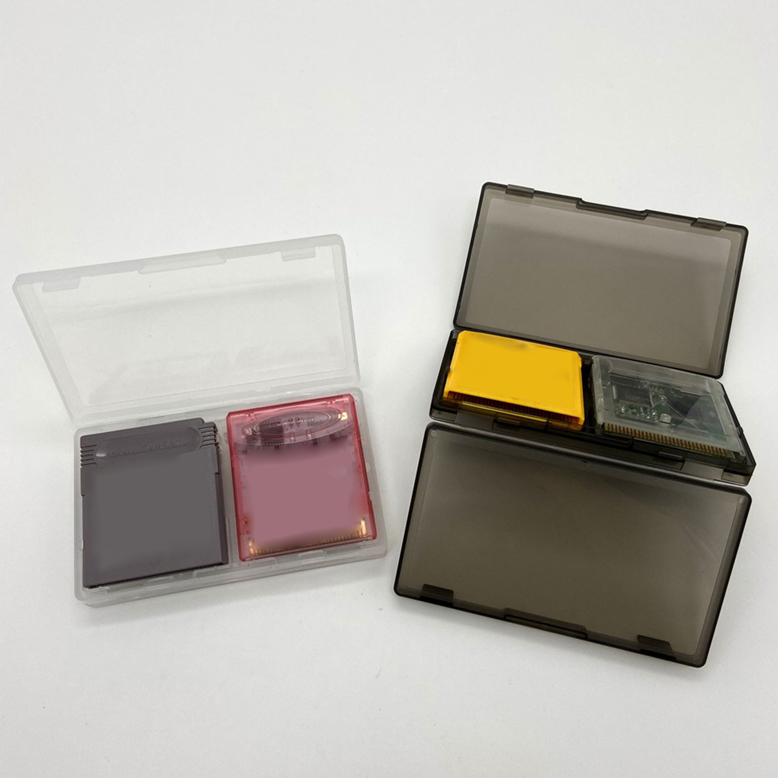 Portable Game Storage Box for Nintend Gameboy <font><b>GB</b></font> 6 Grid Cards Holder Carrying <font><b>Case</b></font> Game Accessories image