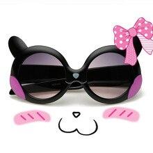 Новинка 2020, детские солнцезащитные очки, брендовые Детские очки кошачий глаз для девочек и мальчиков с линзами UV400, детские солнцезащитные о...