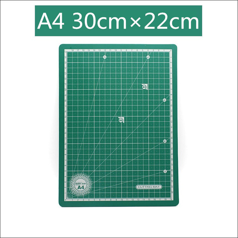 A4 PVC Double-sided Self-healing Soft Plate Cutting Pad Patchwork Mat Artist DIY Manual Sculpture Tool Home Supply Carving Board