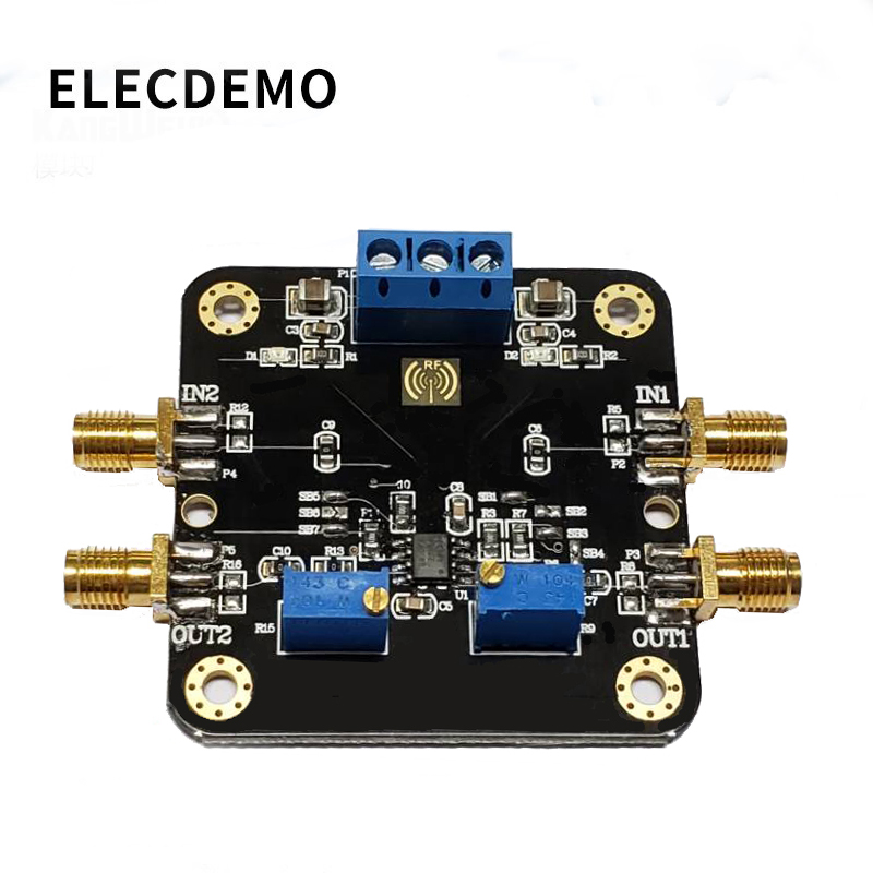 THS3202 Current Operational Amplifier Module 2GHz Bandwidth Dual Op Amp Current Amplifier Function Demo Board