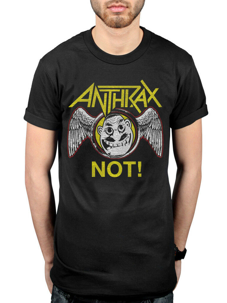NEW /& OFFICIAL! Anthrax /'Worship Music/' T-Shirt