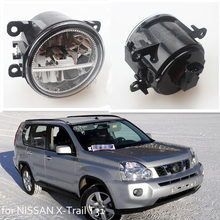 For NISSAN X-Trail T31 Closed Off-Road Vehicle 2007-2014 Car Styling Front Bumper LED Fog Lights High Brightness Fog Lamps 1 Set цена в Москве и Питере