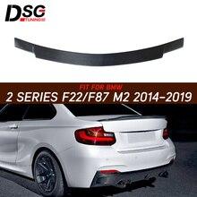 Заднее крыло спойлера из углеродного волокна для BMW 2 серии F87 M2 F22 220i 235i 14