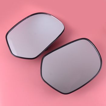 DWCX A Pair Motorcycle 17.5x12.2 cm Rearview Mirrors Glass Case Fit for Honda Goldwing GL1800 2001 2002 2003 2004 2005-2011 2012