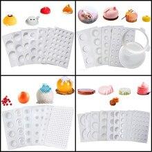 Meibum 27 Types d'outils de décoration de gâteaux moule en Silicone 3d moule à Mousse de Dessert moule à muffins accessoires de cuisine forme de cuisson de pâtisserie