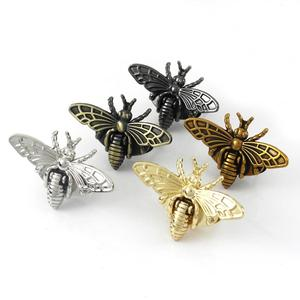 Sac en forme d'abeille métallique, serrure tournante, sac à la mode, quincaillerie de fermoir pour sac d'artisanat en cuir, sac à main, accessoires de bricolage(China)