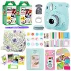 Фотокамера моментальной печати Fujifilm Instax Mini 9 с 40 листами бумаги для мини пленки наплечный ремень сумка аксессуары комплект