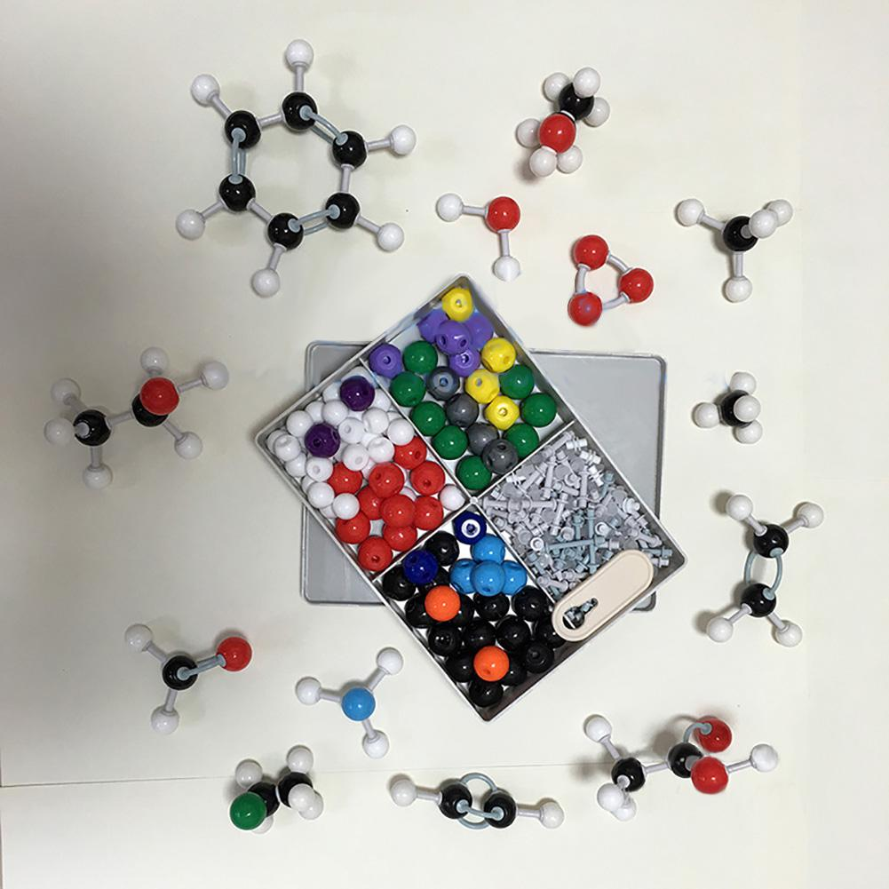 Kuulee 240pcs Molecular Structure Building Model Kit Labs Chemistry Set Science Educational Toys