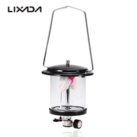Outdoor Camping Gas Lantern Lamp Double Mantle Butane Lamp Camping Equipment Light With Piezo Lighter Camping Hiking Multi Tools