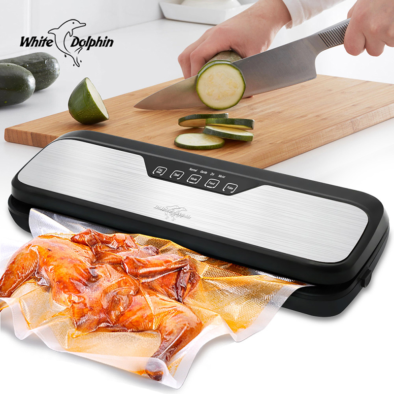 Household Food Vacuum Sealer Packaging Machine Including 10pcs Bags Free 220V 110V Automatic Commercial Best Vacuum Packer