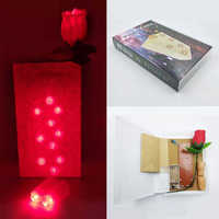 Bag O Lites Blinkende Rose Finger Licht Bühne Professionelle Zaubertricks Freies Verschiffen Requisiten Spielzeug Gehören Batterie